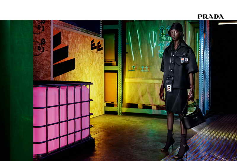 Prada Pre-Fall 2018 Advertising Campaign Industreality