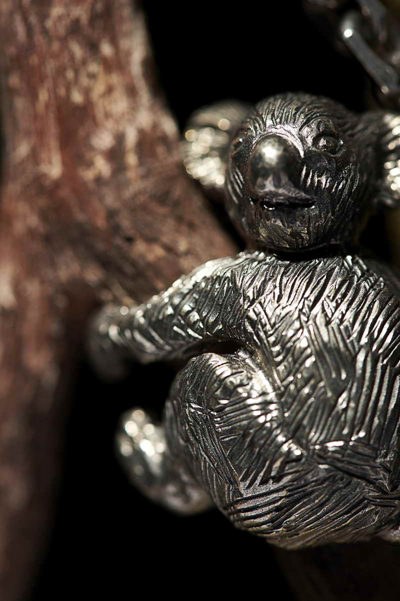 Prada Talisman 2JC170 Animalier wood_detail_HK$11,500