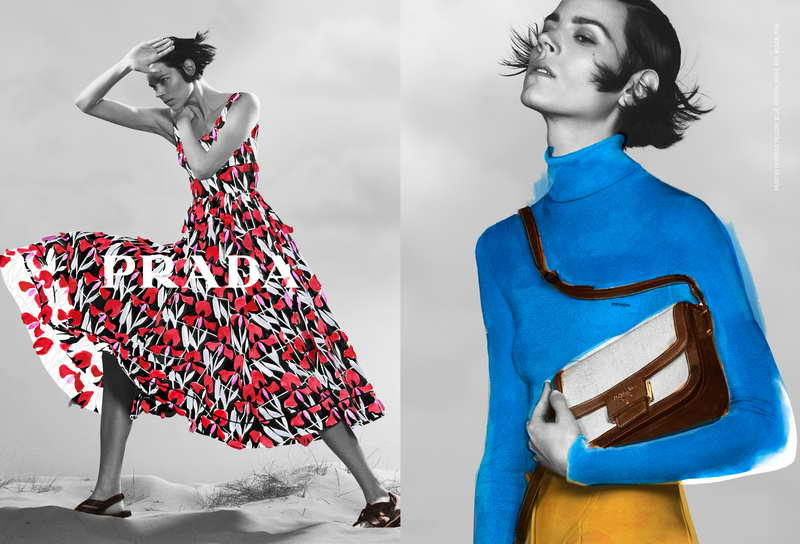 Prada Pre-Fall 2020 Womenswear Advertising Campaign
