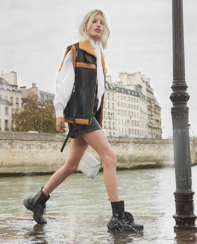 Rubber LV Archlight sneaker boots - black