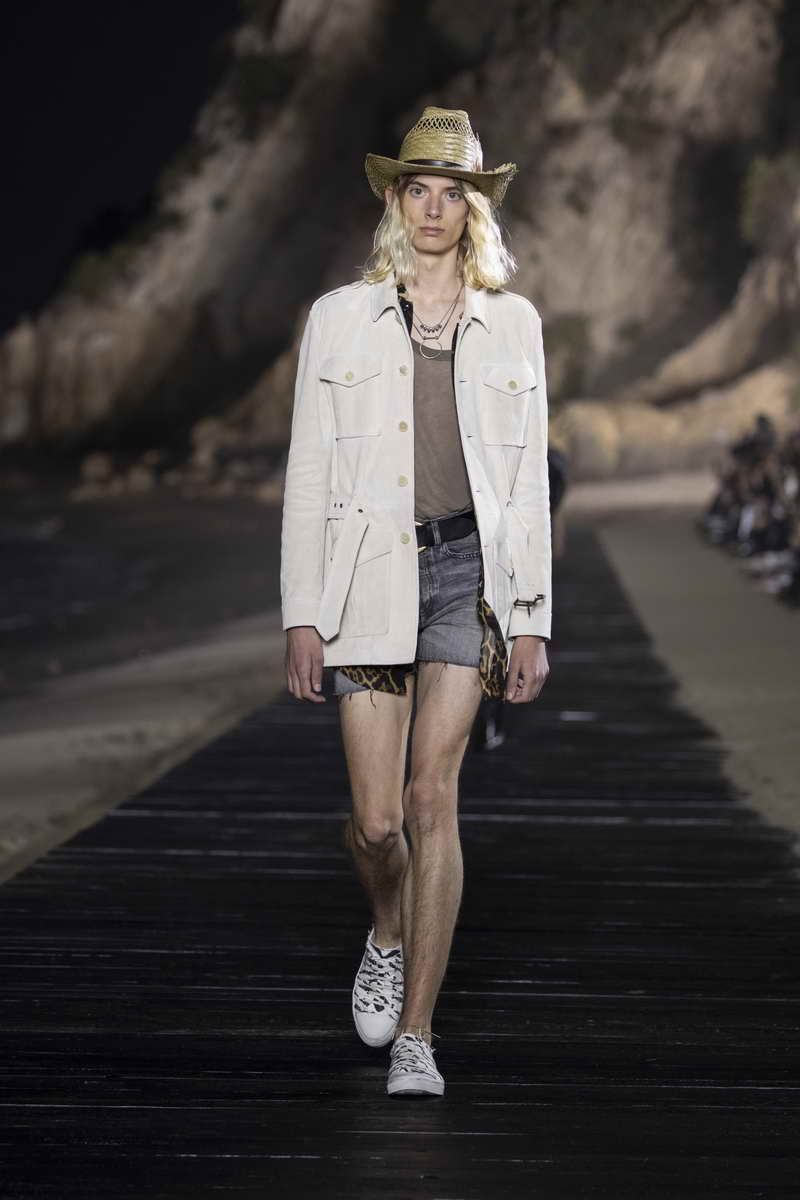 SAINT LAURENT MEN'S SPRING SUMMER 2020