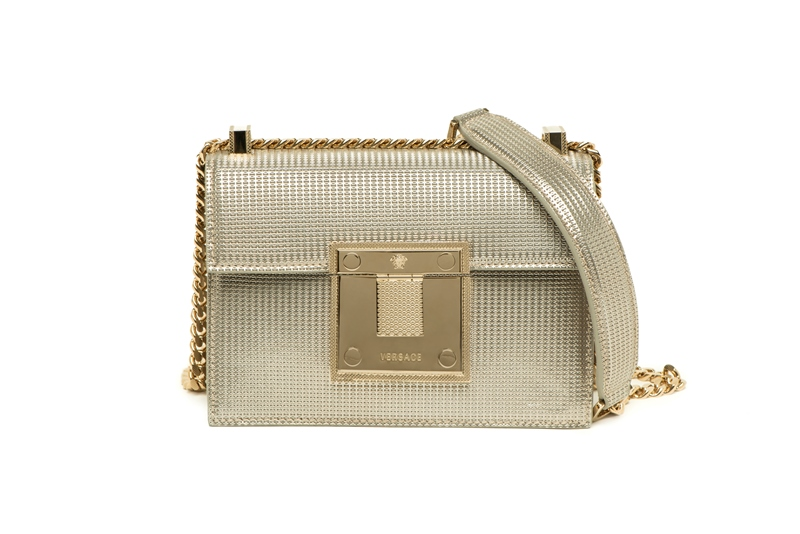 DIAMANTE THE NEW HANDBAG FROM VERSACE