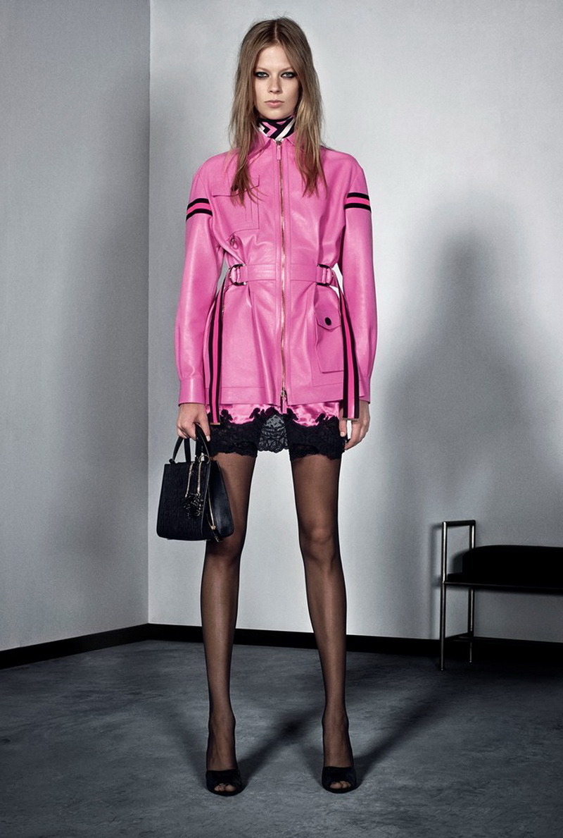 Versace Pre-Spring 16 Women's Look 4_resize