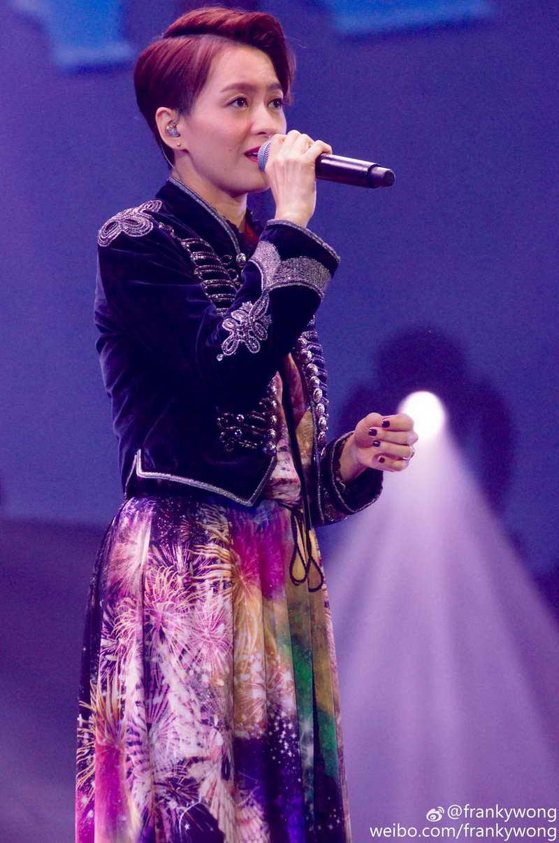 Gigi Leung Wears Roberto Cavalli F/W 2016 In Concert (29 Jan 2017)