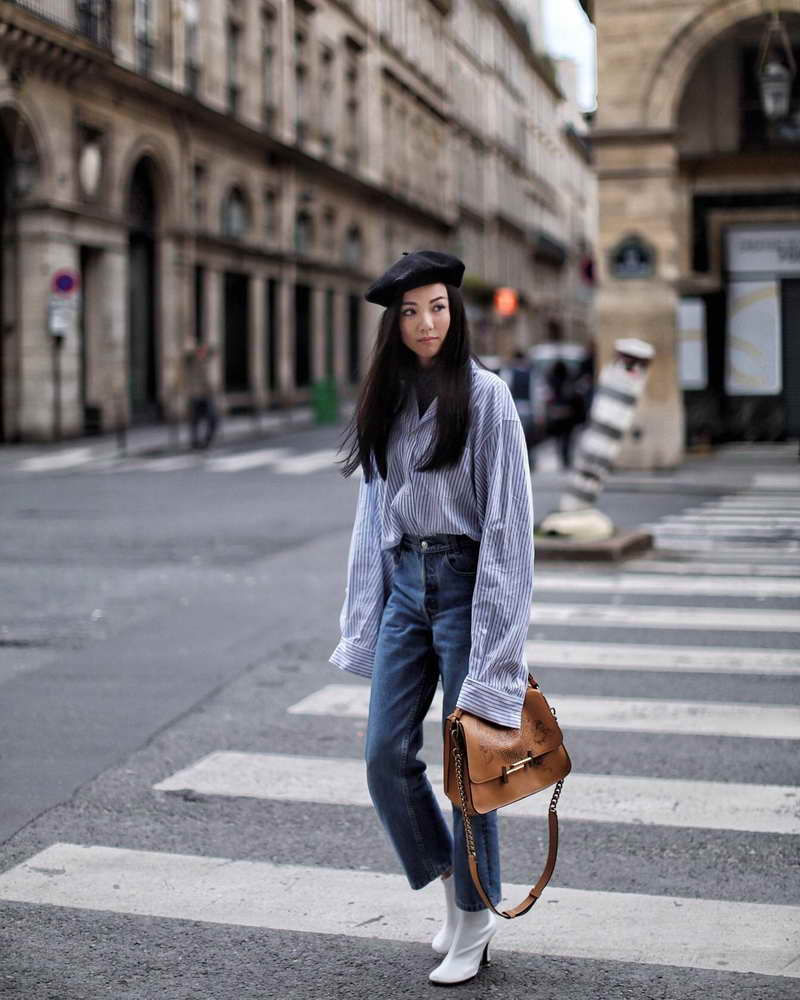 Singaporean fashion blogger Yoyo Cao