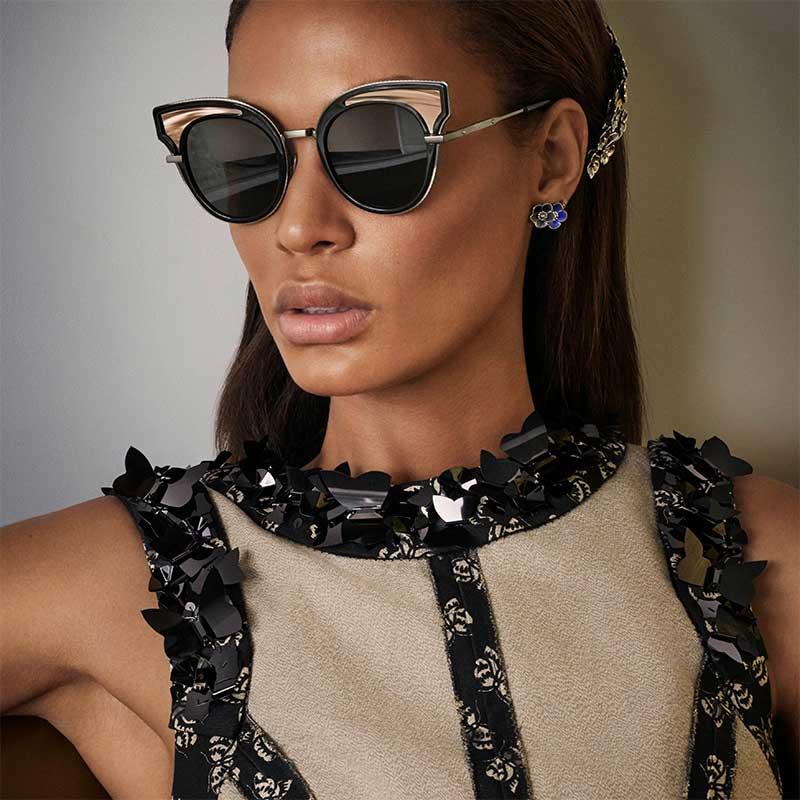 Bottega Veneta Eyewear SS17 Fashion Show Sunglasses