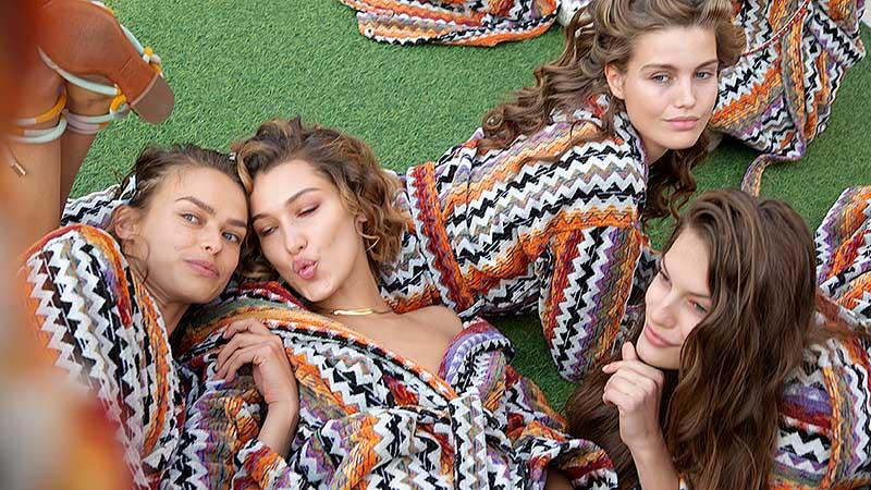 Fashion Show Missoni SS 2020. Foto: Make-up: Lynsey Alexander for MAC Cosmetics. Charlotte Mesman