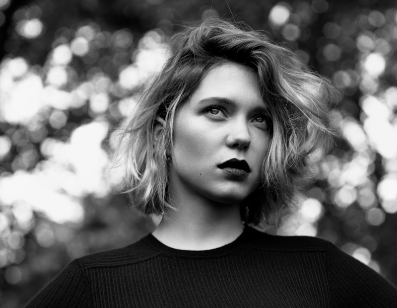 The New Face of LOUIS VUITTON - LEA SEYDOUX (c) Alasdair McLellan