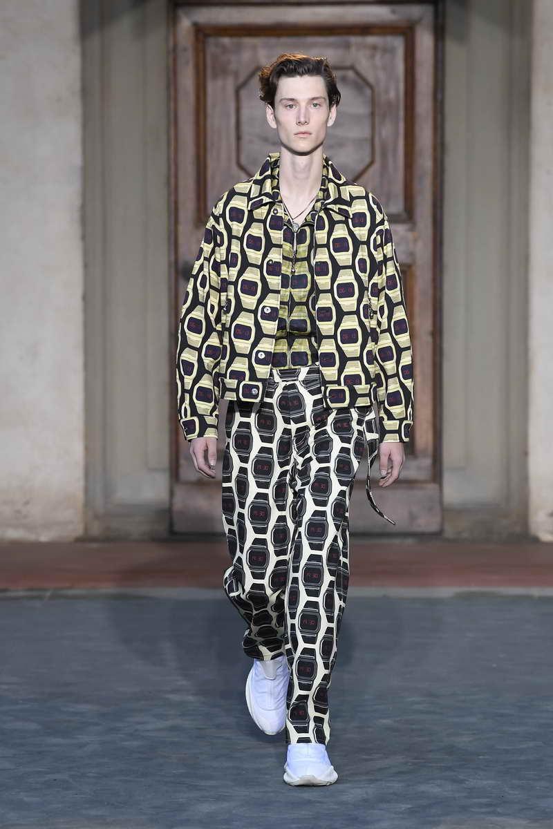 Roberto Cavalli Menswear Spring/Summer 2019 Collection