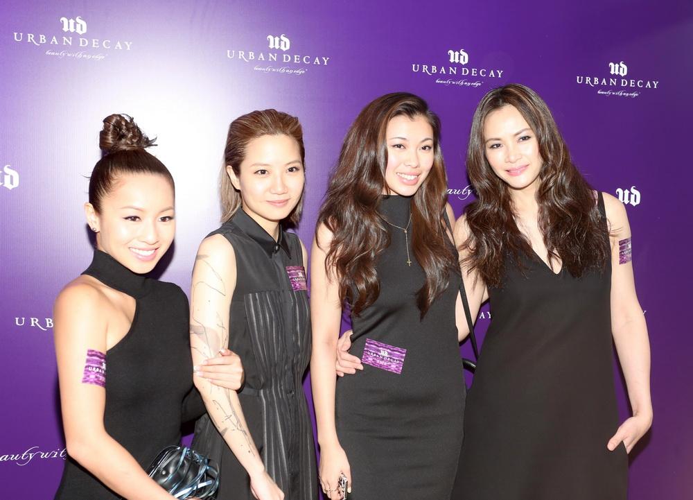 (fr left) Stephanie Cheng, Ellen Loo, Kayla Wong & Janet Ma