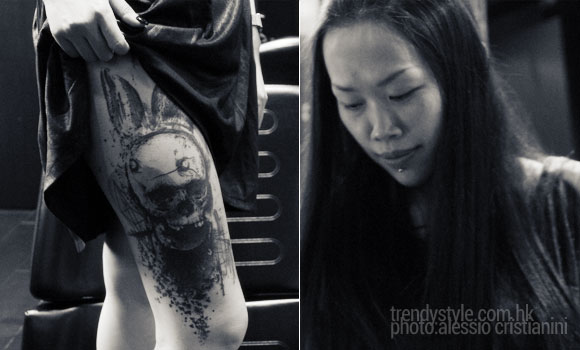 Joey Pang tattoo artist