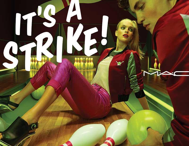 M.A.C It's a Strike!