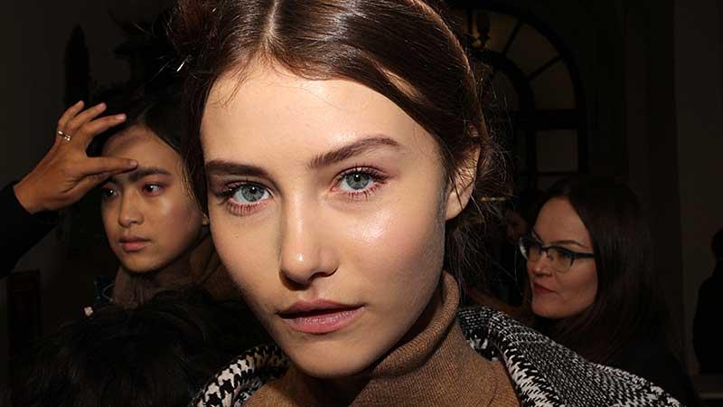 Fashion Show: Luisa Beccaria FW 2018 2019, make-up: Cynthia Rivas for M.A.C.