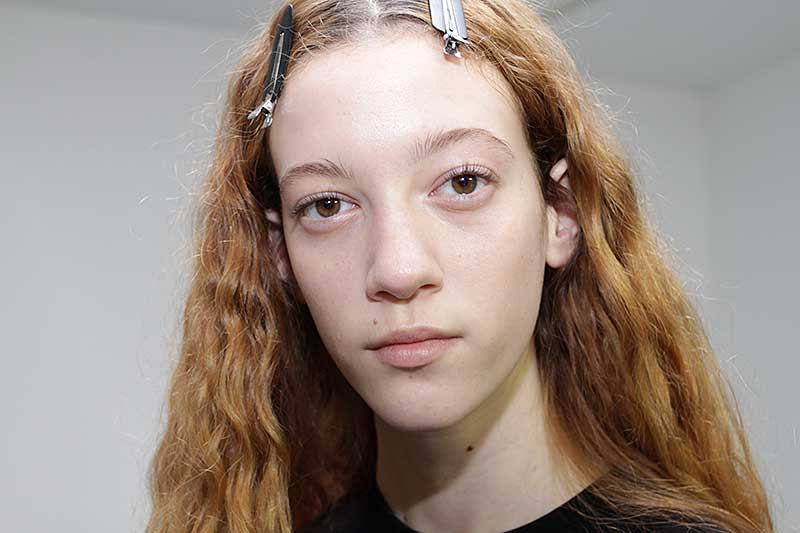 Make-up trends 2018. Natural make-up look
