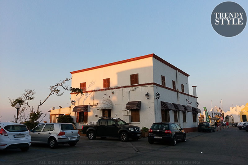 Meltemi Restarant in Rhodes, Greece