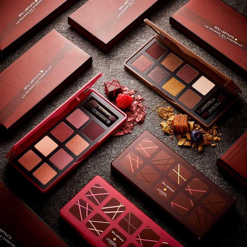shu uemura x La Maison du Chocolat limited holiday collection