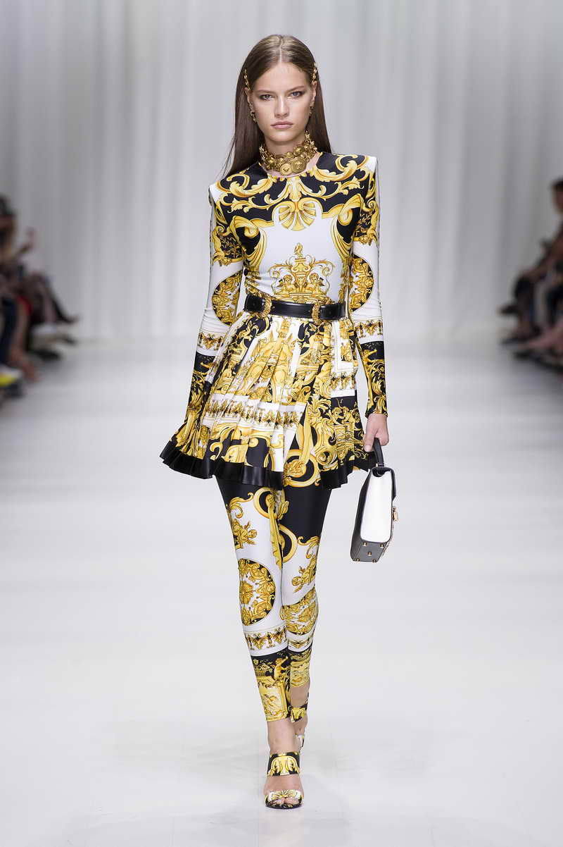 The Versace Tribute Collection Spring Summer 2018